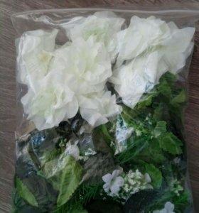 Искусственные цветы и зелень (декор, украшение)