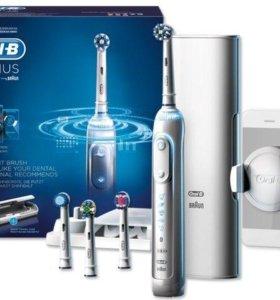 Электрические зубные щетки Oral-B Genius 9000
