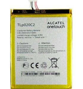 На Alcatel 6040D и др. аккумулятор