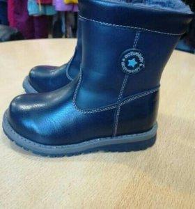 Зимние ботинки 28