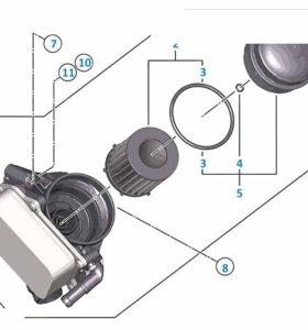 Корпус масляного фильтра и охладитель