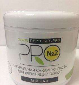 Сахарная паста DepiFlaxPRO №2 Мягкая 750мл.