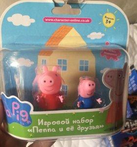 Фигурки из мультика Свинка Пеппа