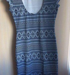 Платье,почти новое,oodji