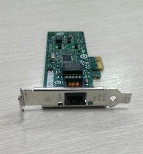 Сетевая карта PCI-E, intel PRO/1000 Desktope Adapt