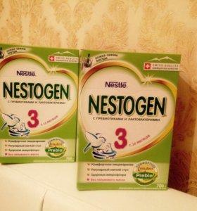 Детское питание Nestogen3 от 12мес.(2пачки)