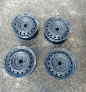 Штампованные диски r16 suzuki / toyota