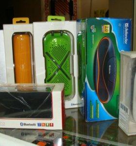Портативные колонки Bluetooth, Радио, SD, USB