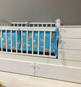 Кроватка детская для новорождённых Автоматическая