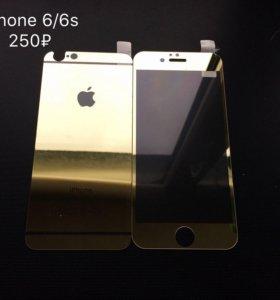 Чехлы и защитные стекла на iPhone 6/6s