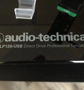 Виниловый проигрыватель Audio-technica At lp-120