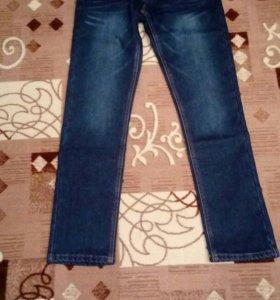 Новые зимние подростковые джинсы