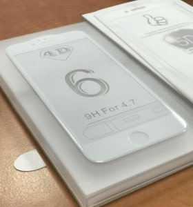 Защитное стекло 5d iPhone 6