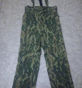 Военные штаны зимние (без подклада) флора