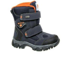 Зимние ботинки мембрана новые