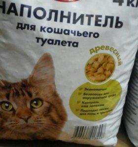 Наполнитель для кошачьего туалета