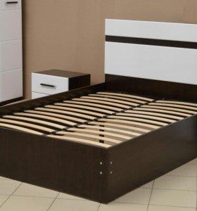 Кровать МДФ + тумбочки