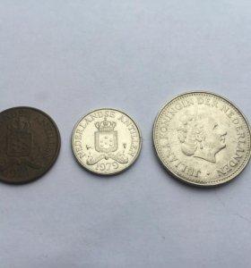 Монеты Нидерландские Антильские острова