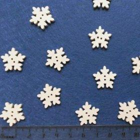 Пуговицы снежинки