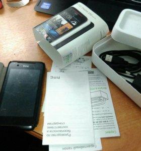 HTC телефон + чехол + комплект