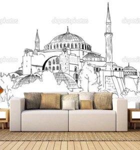 Роспись стен и картины на заказ