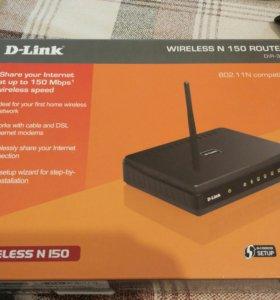 Роутер d-link wireless n 150