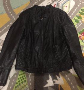 Куртка кожзам Promod