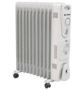 Обогреватель масляный 11-секционный с вентилятором