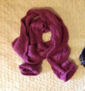 Шерстяной шарф.