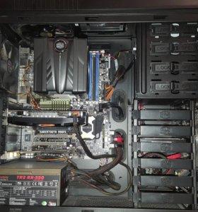 Мощный системный блок на базе 6-ядерного AMD