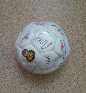 Мяч футбольный коллекционный