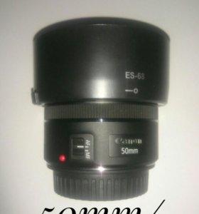 Canon 50mm/1,8