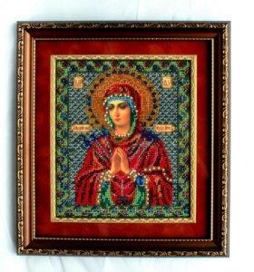 Икона бисером-Богородица Умягчение злых сердец