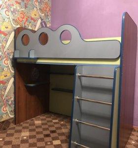 Детская кровать сердак
