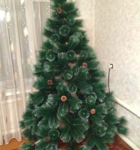 Новогодние пушистые елки искусственные