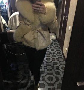 Пихора , куртка зимняя на натуральном меху