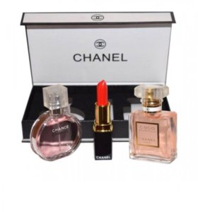 Подарочный набор Chanel 3в1