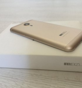 Мобильный телефон meizu mx5 16gb gold Новый +чехлы