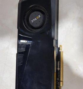 Видеокарта NVIDIA GTX570 Zotac
