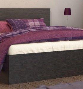 Кровать двуспальная с матрасом аскона