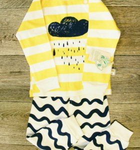 Пижама новая (с этикеткой) р-р 86-92