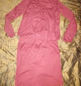 Платье с накидка