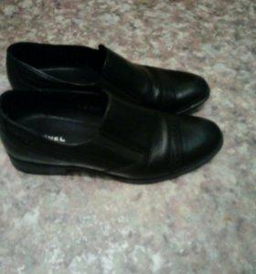 Туфли муж 38 размер нат.кожа