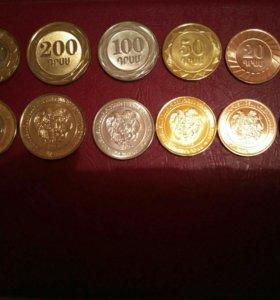 Коллекционные монеты.