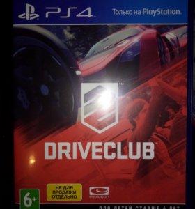 Диск driveclub для PS4