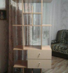 шкаф для книг и игрушек