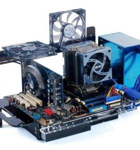 Игровой компьютер , открытая сборка МА1