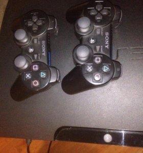 PS 3 + 16 дисков