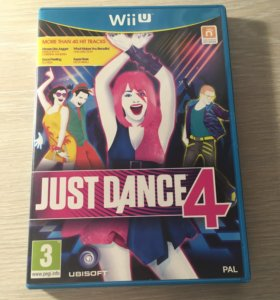 Just Dance 4 для Nintendo Wii U
