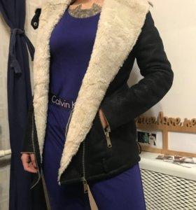 Дубленка ,Куртка bershka